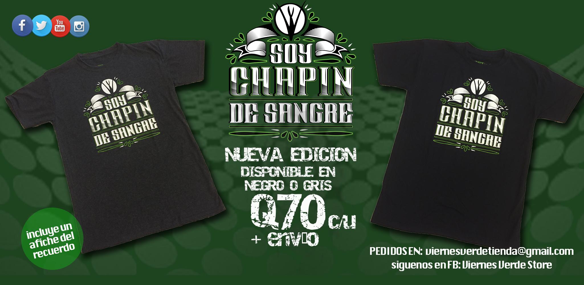 SOY CHAPIN DE SANGRE