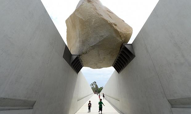 Michael Heizer Rock